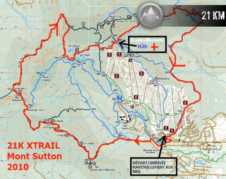 xTrail sutton parcours
