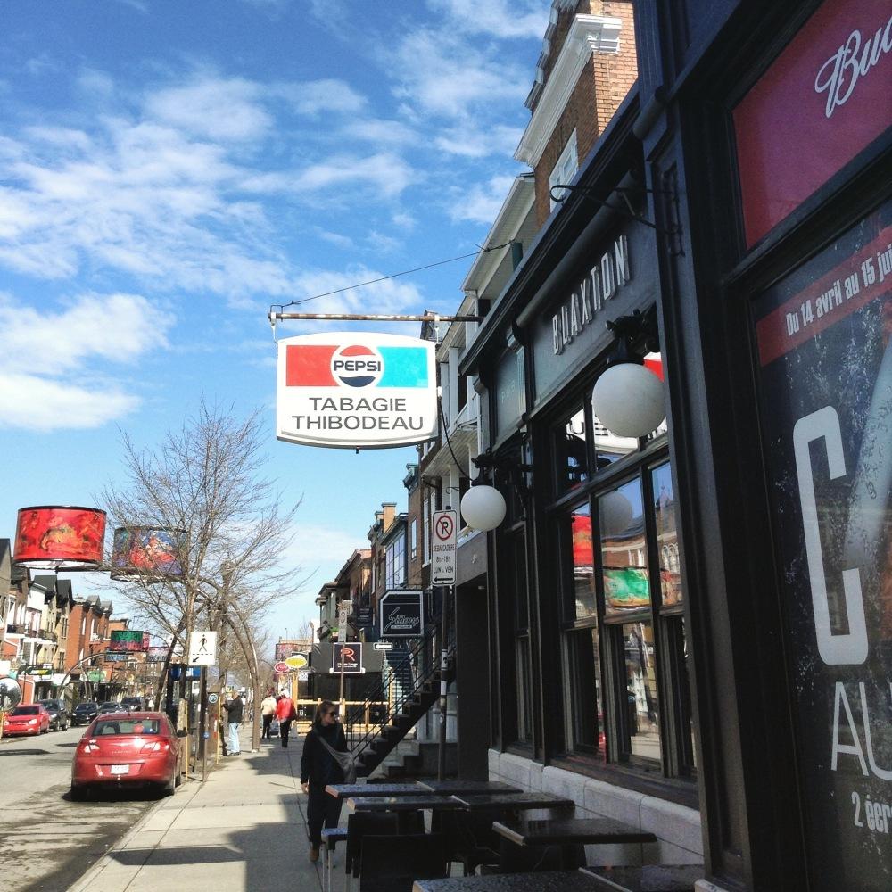 Rue Cartier Québec