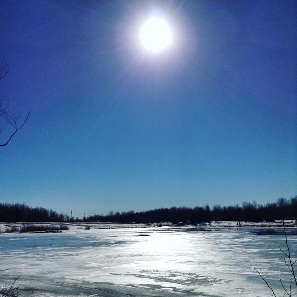 courir en hiver